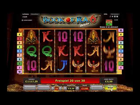 * ONLINE SESSION #6 * BOOK OF RA 6 WALZEN * FREISPIELE *