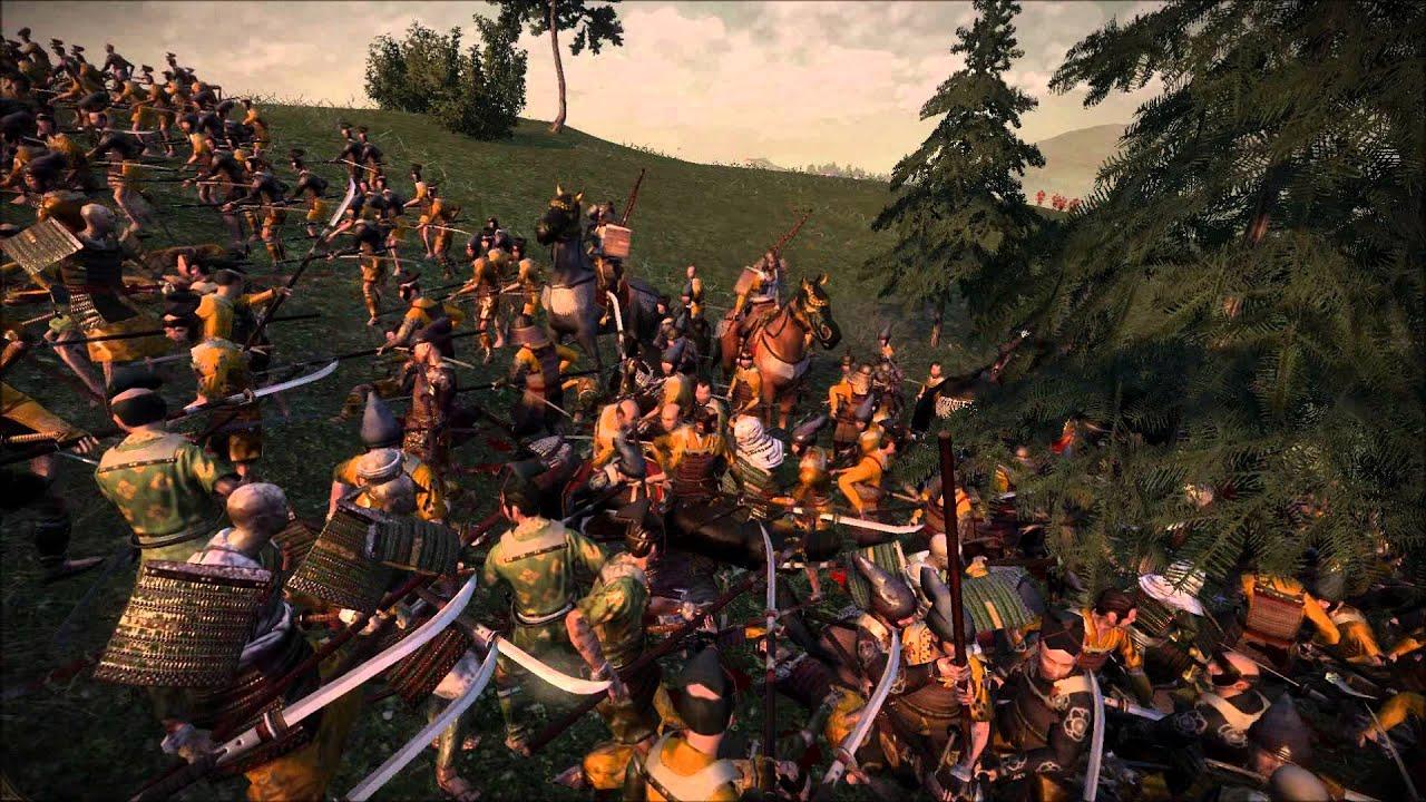 Kubota vs Taira - Hill Battle - Shogun 2 Rise of the Samurai - YouTube