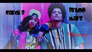 Bruno Mars - Finesse (Remix) [Feat. Cardi B] 10 HOURS