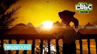 CBBC Newsround: Hiroshima - A survivor's story in animation