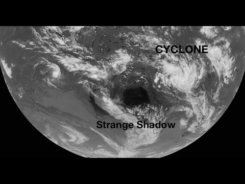Possible *CAT4* Cyclone takes aim at QLD! | 'Strange Shadow' appears on satellite over Australia