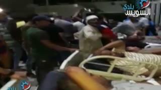 مأساة مصابي حادث الكبانون بالسويس بين المستشفى العام والتأمين الصحي