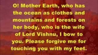 Video SAMUDRA VASANE DEVI w/ MEANING - Earth Prayer - Daily Hindu Sanskrit Sloka (Mantra) download MP3, 3GP, MP4, WEBM, AVI, FLV Juli 2018