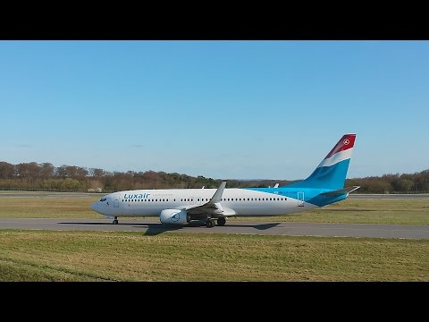 SPOTTING | LUXEMBOURG FINDEL INTERNATIONAL AIRPORT | April 2015