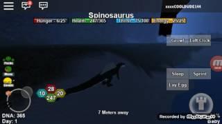 Hmm my favorite dino is the battle scared gig... NOOOOOOO | Roblox | Dino Sim | #2