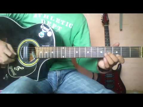 Phulchoki Ko Dada Muni - Guitar Lesson