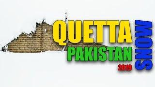 New Quetta Winter Snow Video 2019