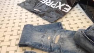 Express Jeans Destroyed Alec Moto Review(, 2015-08-25T21:47:33.000Z)