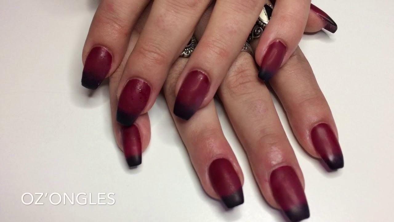 nail art samples - exemples nail art - YouTube