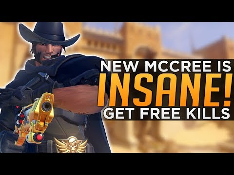 Overwatch: Buffed McCree is INSANE! - New Interactions thumbnail