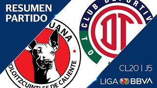 resumen-y-goles-xolos-vs-toluca-jornada-5-cl-2020-liga-bbva-mx