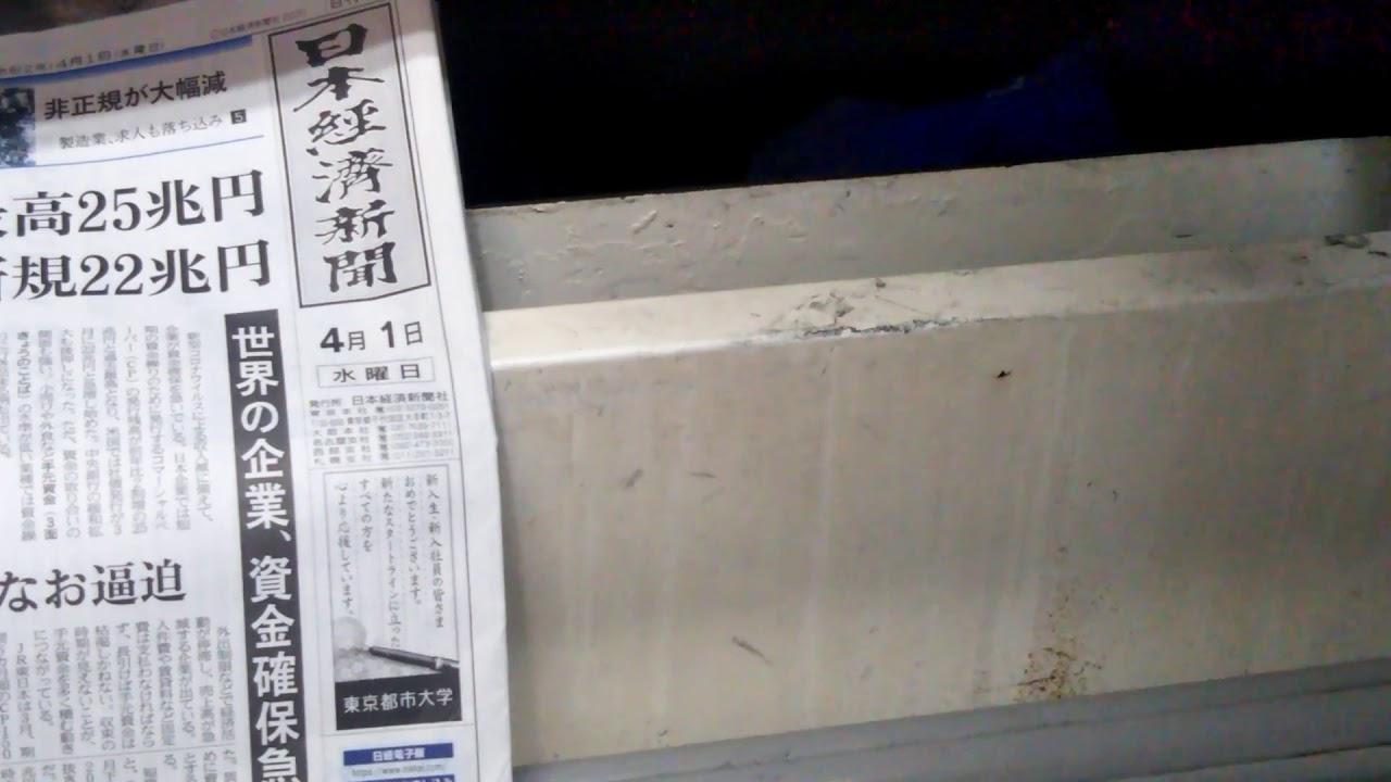 4/1今朝の洗濯液確認~目視編~