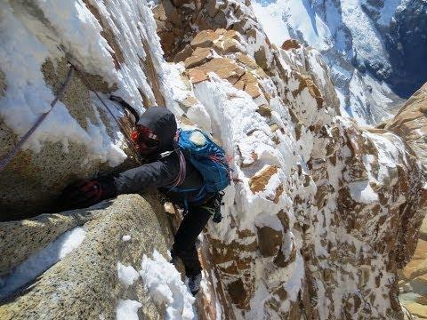 Supercaneleta Mt Fitz Roy Patagonia Climbing
