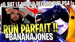 WOW ! Un joueur PS4 bat le World Record sur mon Deathrun #BananaJones sur Fortnite Créatif !!