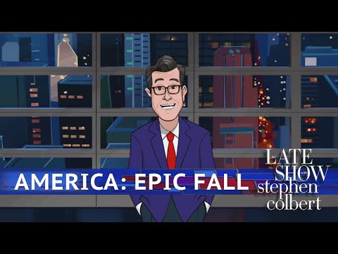 Colbert Looks Back At Americas Epic Fall