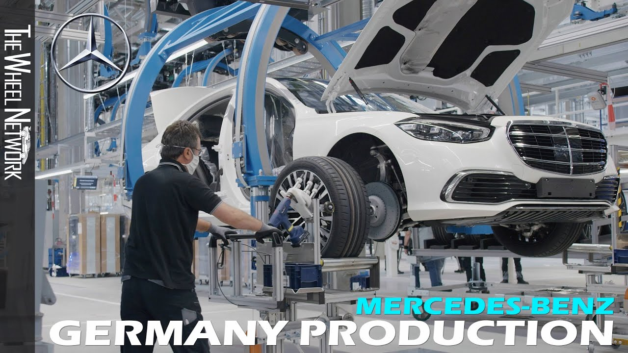 2021 Mercedes-Benz S-Class Production in Germany