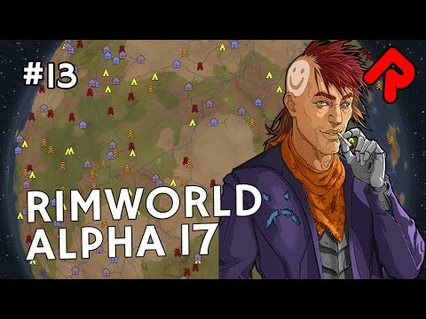 Wimpessa's Malaria & Researching Shipbuilding | Let's play RimWorld alpha 17 ep 13