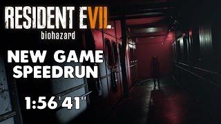 Resident Evil 7 - Any% Speedrun - 1:56'41 [World Record]