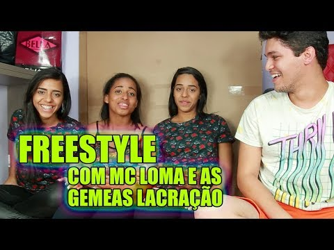 MC LOMA E AS GÊMEAS EM GAME DE FREESTYLE   Gabriel Renné