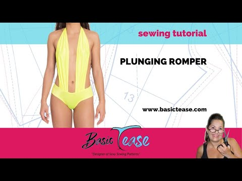 853656b2d88d Shorts Romper Sewing Tutorial for Exotic Dancers and Strippers. Make your  stripper shorts romper #22 - YouTube
