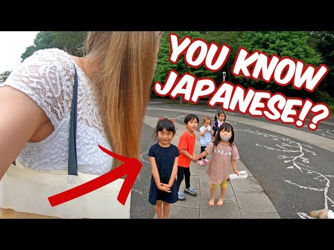 How Do Japanese Kids React To Foreigners?