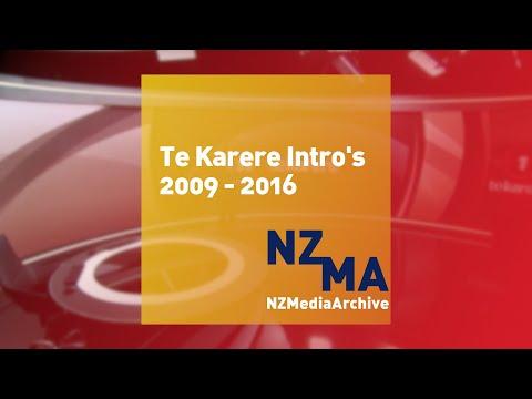 Te Karere intro's | 2009 - 2016