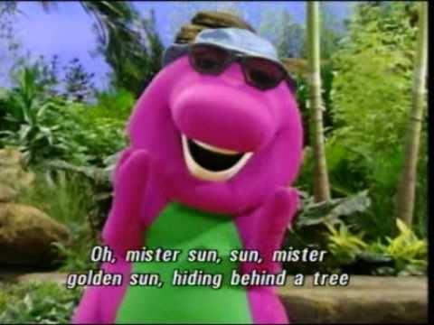 Barney Mister Sun Song Best Original HQ