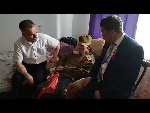Глава Баймакского района посетил ветерана ВОВ Ишбулды Сабитова