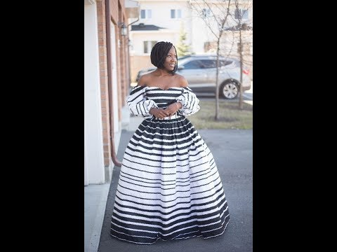 Top 50+ African Print Dresses 2018: African Clothing For Women: African Skirt And Blouse