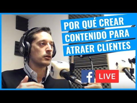 Por Qué Crear Contenido Para Atraer Más Clientes [Entrevista Radio - Live].