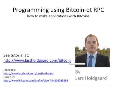 Programming Bitcoin-qt using the RPC api (1 of 6)