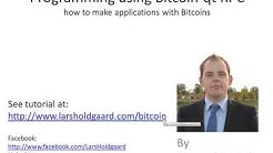 Programming Bitcoin-qt using the RPC api (1 of 6)