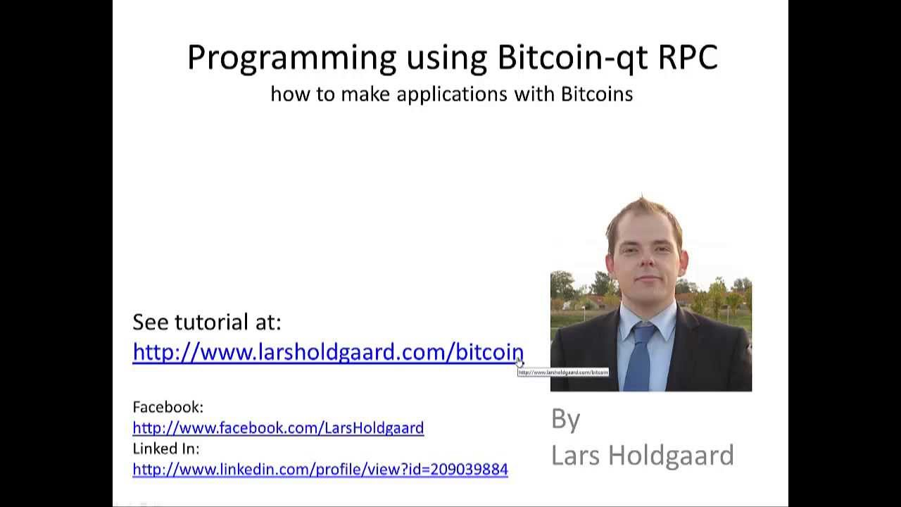 Programming bitcoin qt using the rpc api 1 of 6 youtube programming bitcoin qt using the rpc api 1 of 6 baditri Image collections