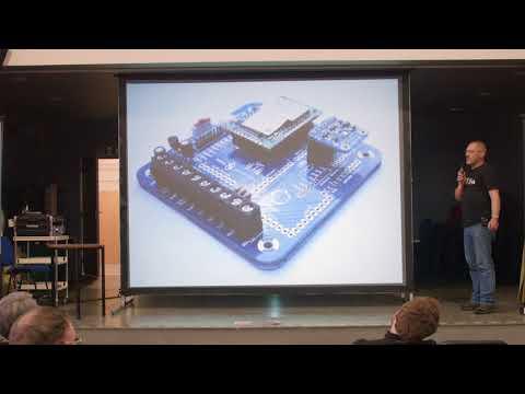 Building a Smarter Island, Andrew Lindsay (OSHCamp 2016)