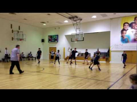 Archangel School vs. Hope Hall Boys Basketball 1/10/17