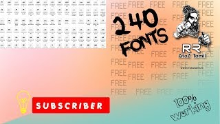 Photoshop Tamil Font Free Download