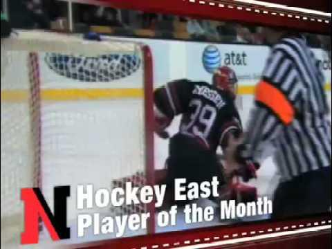 Northeastern Men's Hockey's Brad Thiessen