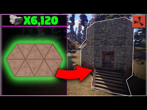 100% CHEAP COMPACT Starter SOLO Base Design | (Small) Rust Base Building