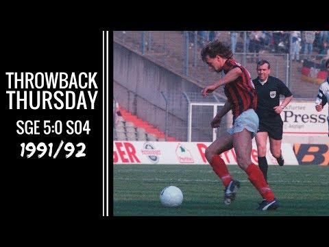 TBT | Eintracht - Schalke 1991