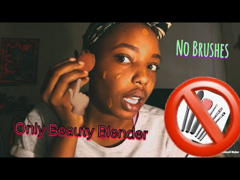 Did my makeup without any brushes | Should I start Vlogging?