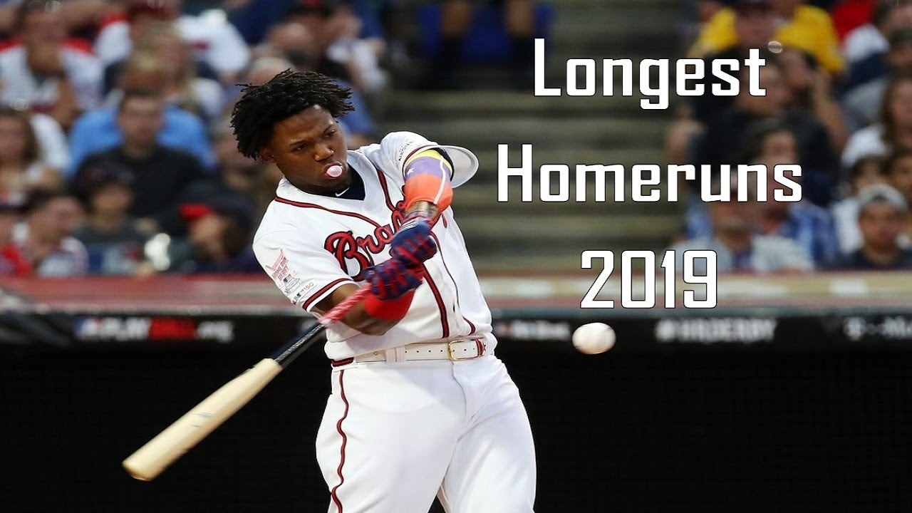 Atlanta Braves | Longest Home Runs of 2019