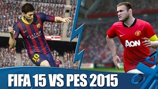 FIFA 15 vs PES 2015: Who will take the title?