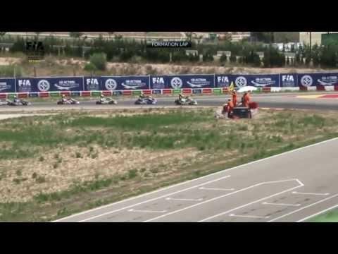 CIK FIA EUROPEAN CHAMPIONSHIP 2013 Round 1 Alcaniz KF FINAL
