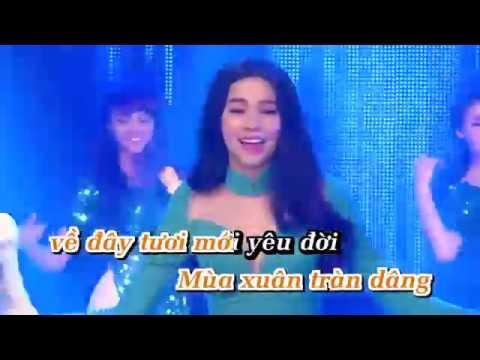 nhu hoa mua xuan karaoke thuy tien ho ngoc ha minh hang  beat chuan
