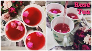 Aromatic Rose Tea | Mood Enhancing Best Magical Drink With Rose Petals | Healthy Skin, Hair & Body