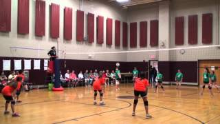 2015 Mt Olive Volleyball Crocs vs Orange Fireball Match - Game 1