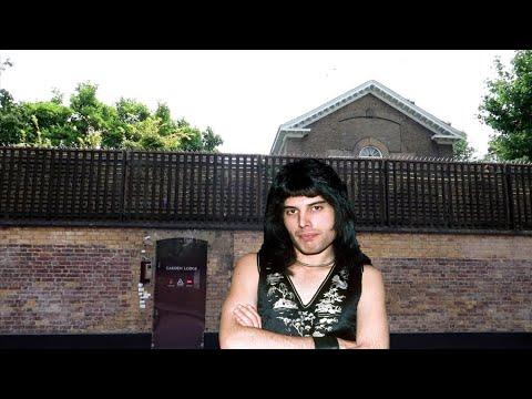 #1072 FREDDIE MERCURY & JIMI HENDRIX Home & Death Locations - London Travel Vlog (7/14/19)