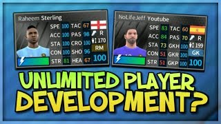 Unlimited Player Development? Upgrading NoLifeJeff & Sterling To 100 Rated Dream League Soccer 2018