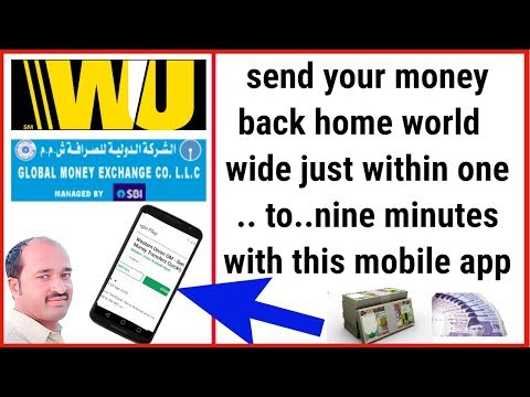 western unian oman muscat | money transfer mobile app | how to Create a Account