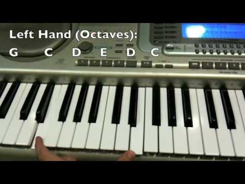 I Gotta Feeling Piano Tutorial Youtube